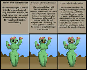 Evolution of a Cactus Girl (TF/TG)
