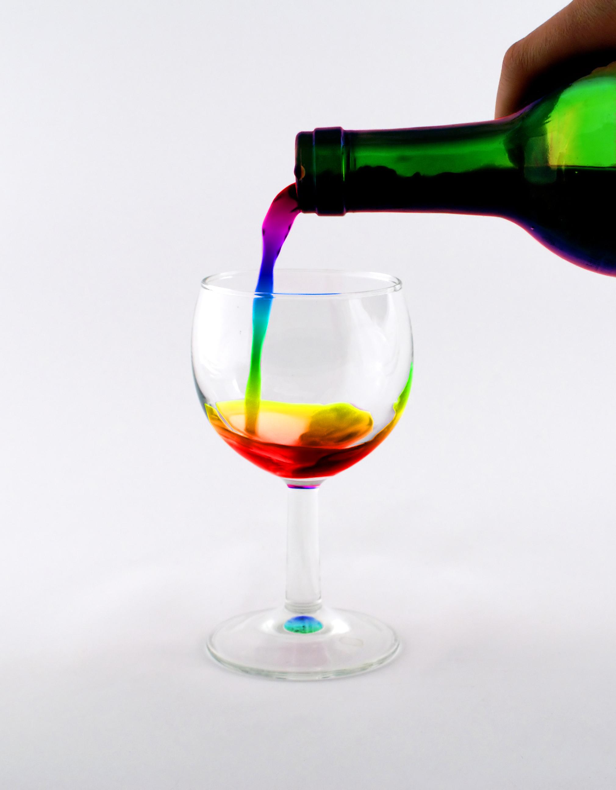 Wine of Rainbow by Nishikihebi
