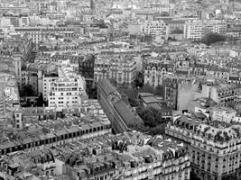 Rooftops in Paris by muzzy500
