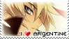 I :heart: Argentine stamp by Lyioh