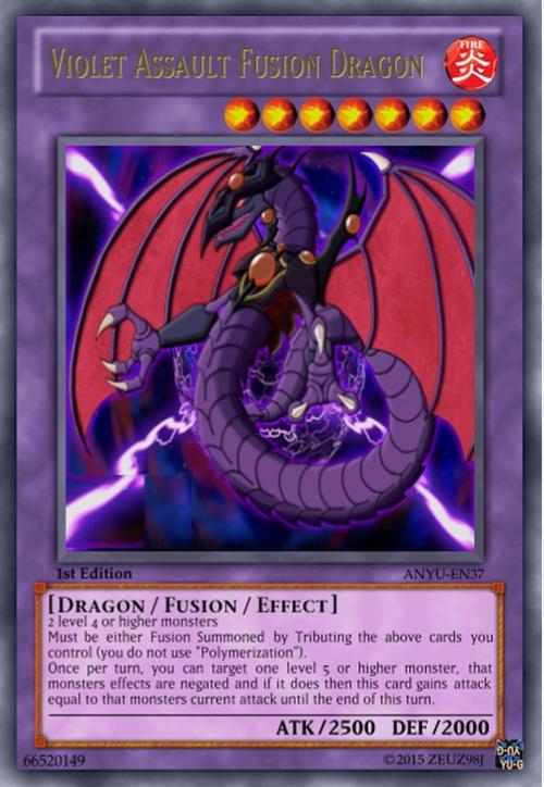 Violet Assult Fusion Dragon by Zeuz98J