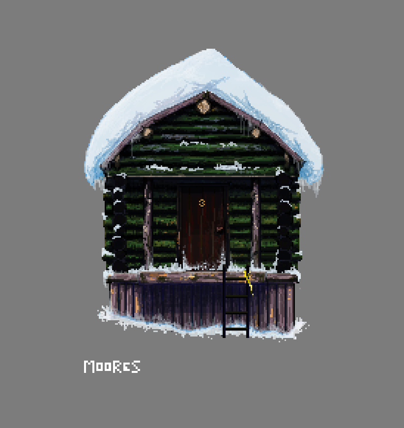 Log Cabin by zmoores