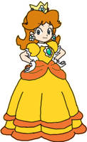 Princess Daisy - Present by lil-mikoto