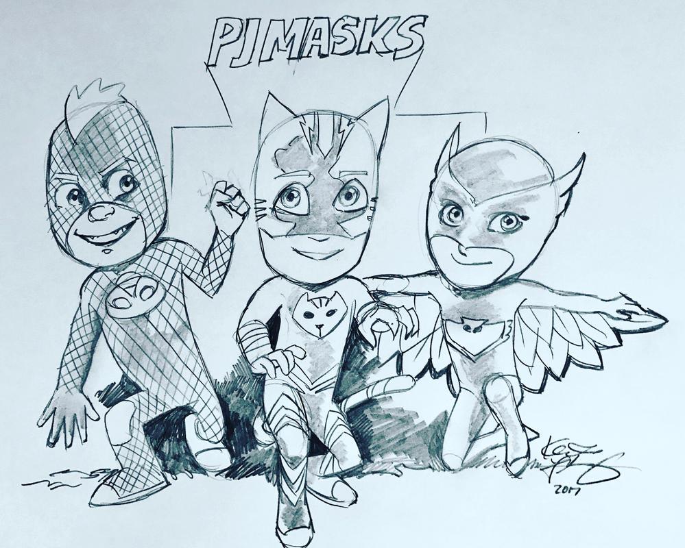PJ Masks by kennf11