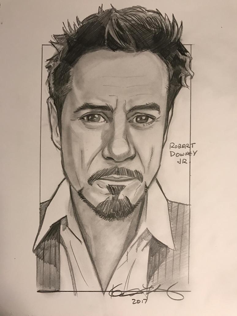 Robert Downey Jr. - I am Iron Man by kennf11