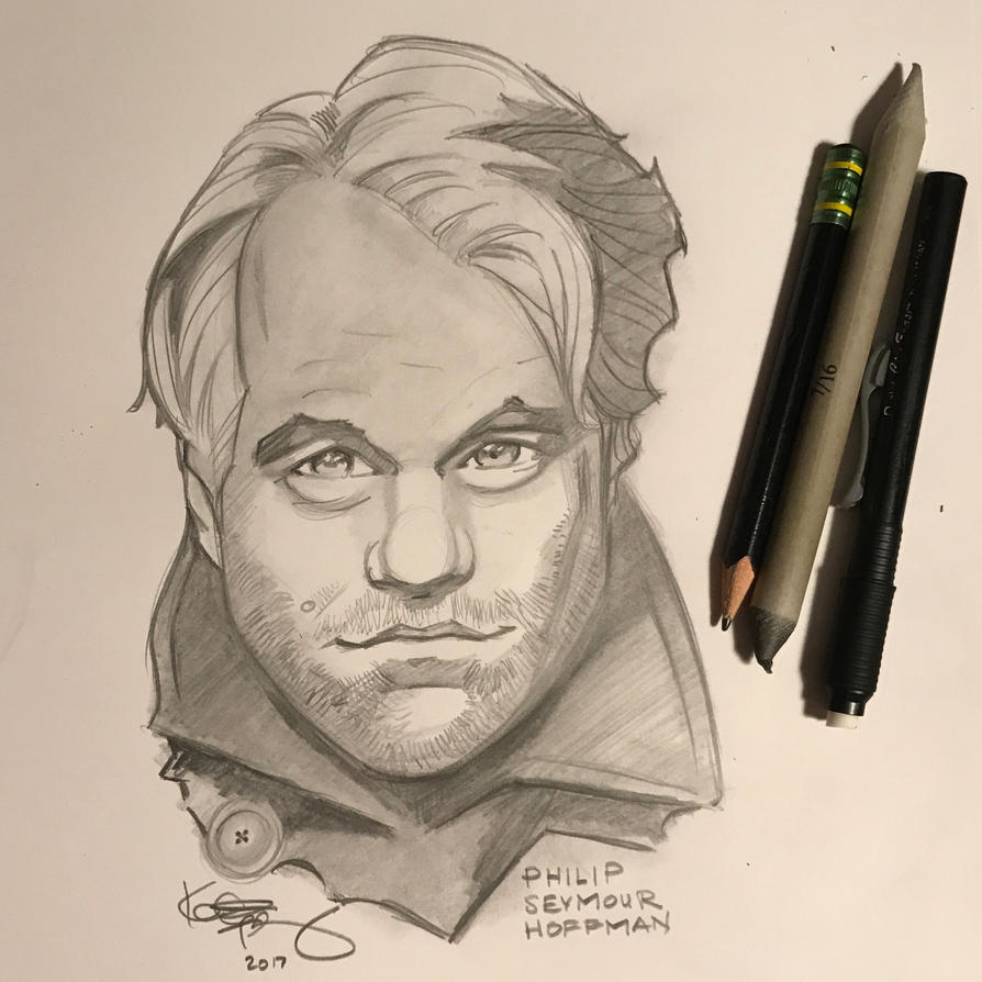 Philip Seymour Hoffman by kennf11