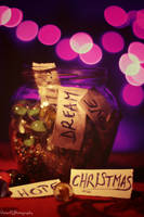 Christmas feeling jar by smog2two