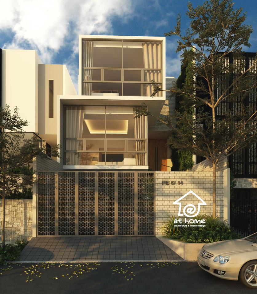 Modern House Kelapa Nias Jakarta By Siek On DeviantArt - Modern house jakarta