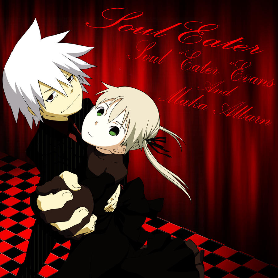 Soul and Maka by bloodbendingmaster97