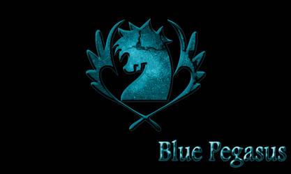 Blue Pegasus by bloodbendingmaster97