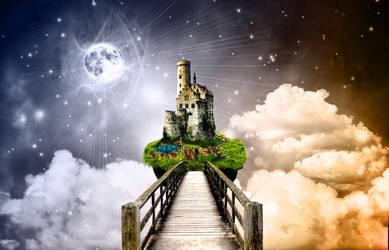 Castle in the sky by bloodbendingmaster97