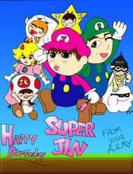 Happy Birthday Jin-Oppa~ by bloodbendingmaster97
