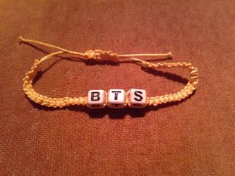 BTS Macrame Bracelets by bloodbendingmaster97
