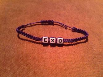 EXO Macrame Bracelets by bloodbendingmaster97