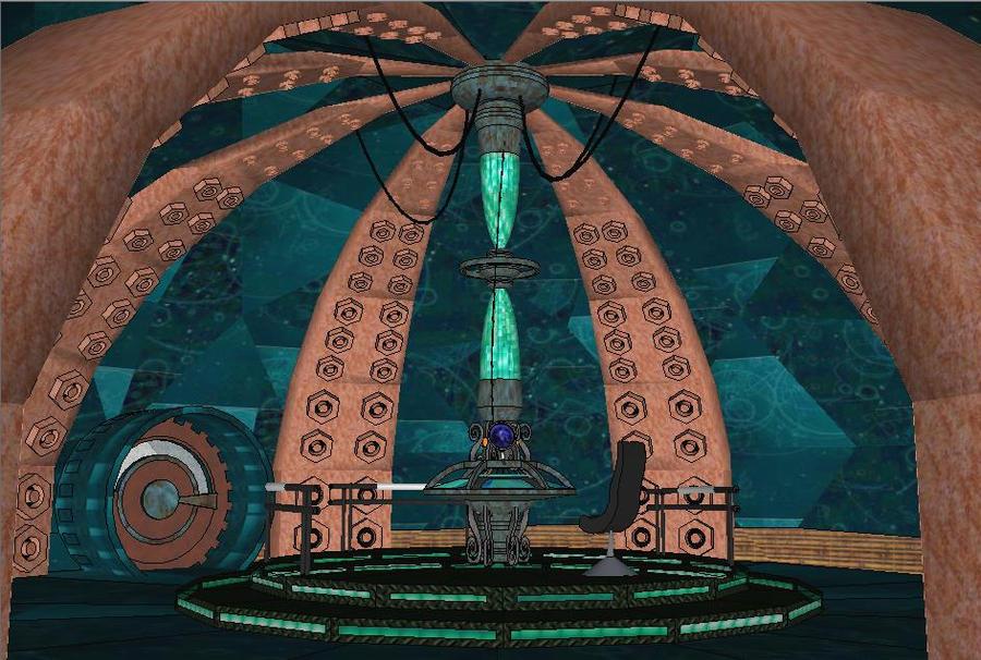TARDIS INTERIOR 2 by calamitySi on DeviantArt