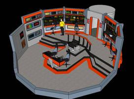 Star Trek TOS Bridge by calamitySi