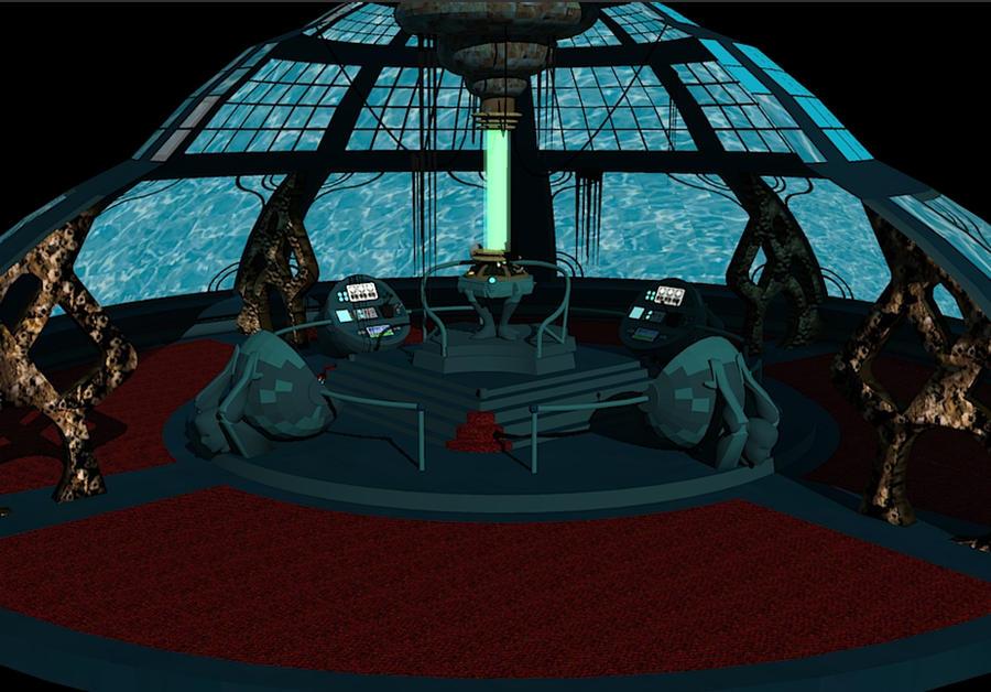 Tardis Console Room 3D
