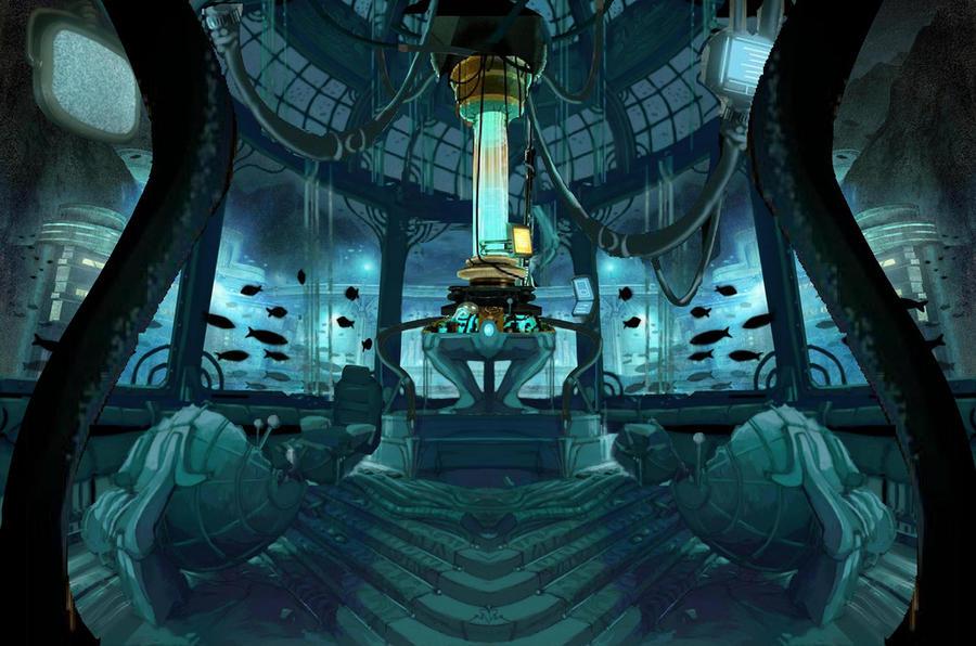 Tardis Console Room 2D