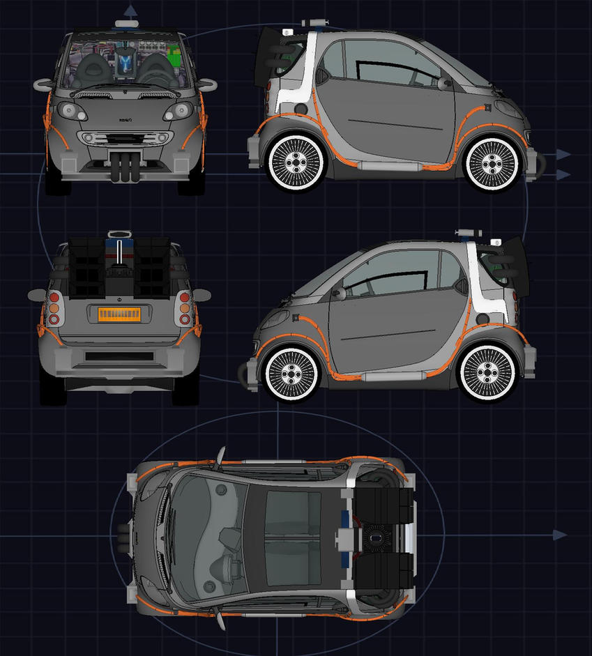 Back to the future smartcar bp by calamitysi on deviantart back to the future smartcar bp by calamitysi malvernweather Image collections