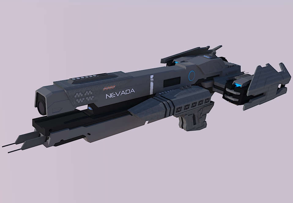Halo Frigate Unsc Nevada Test Render By Calamitysi On