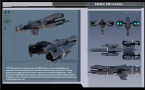 Halo UNSC Frigate Nevada: Spec Sheet by calamitySi