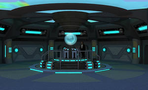New Tardis Console Room