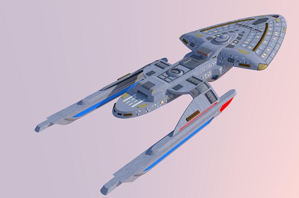 Star trek voyager intrepid class prototype 1 by for Wohnung star trek design