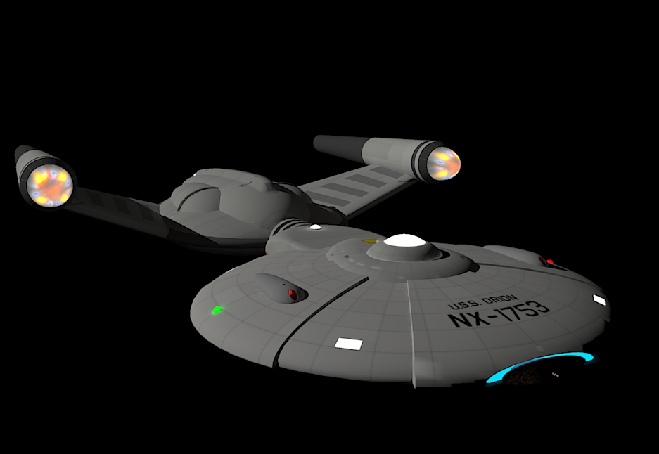 USS Orion NX 1753 3 421400379 on Star Trek Federation Klingon Romulan Fleet
