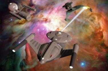 Fending off the Klingons by calamitySi