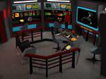 Star Trek TOS Bridge - U.S.S. Orion #2