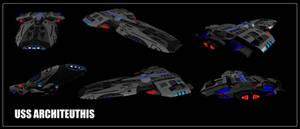 USS Architeuthis (Test Render)