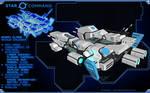 Star Command Sagan Class Medium Cruiser