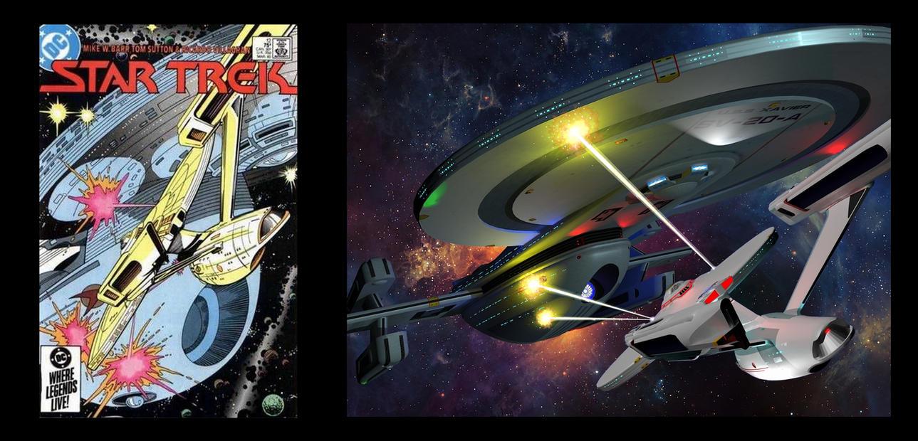 Calamity Trek Comic Adaptation#1: Tantalus trap by calamitySi