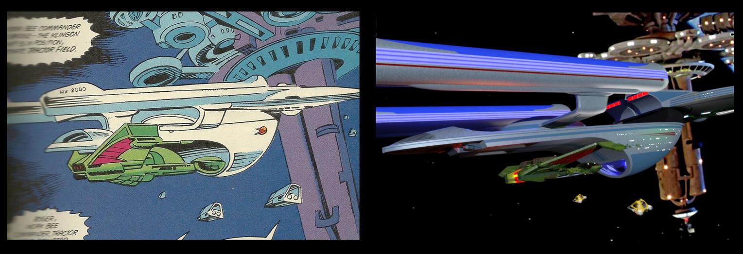 Calamity Trek Comic Adaptation#2: Mirror Universe by calamitySi