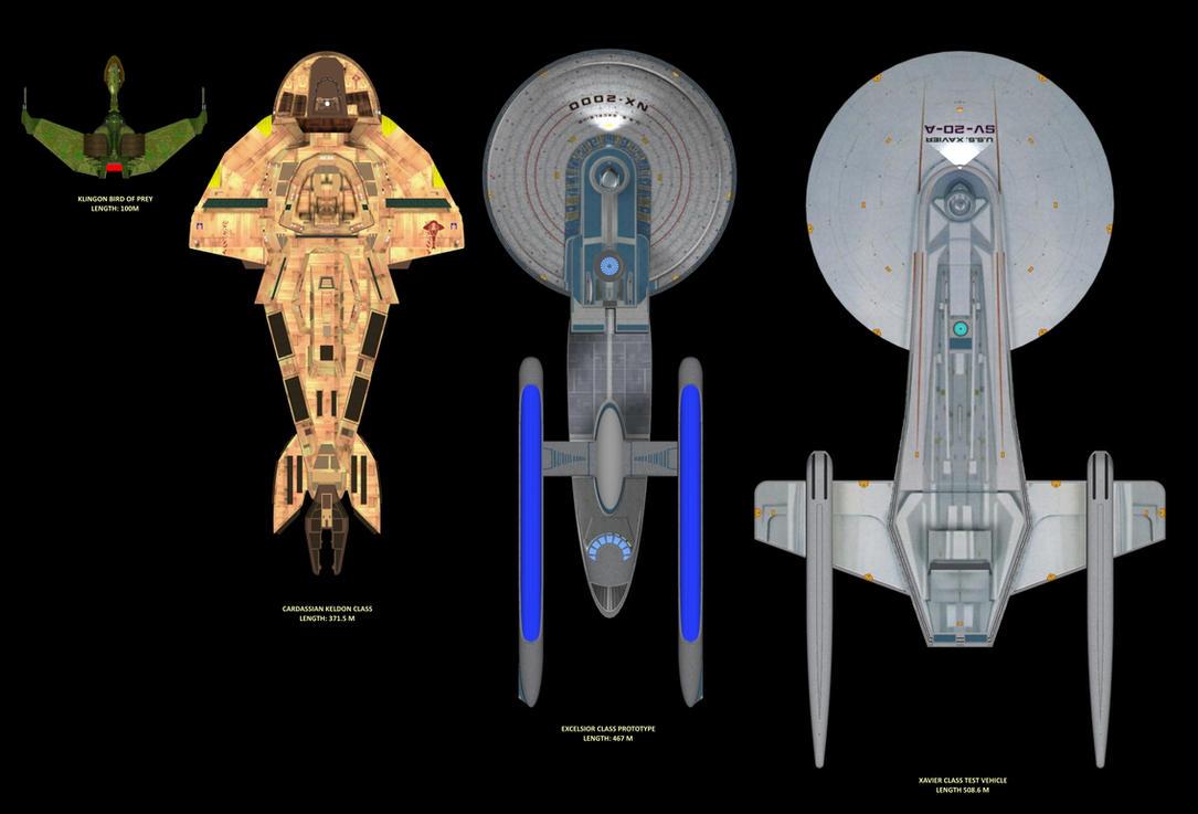 USS XAVIER SIZE COMPARISON by calamitySi