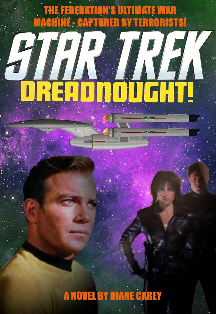 Star Trek 'Dreadnought' Book Cover by calamitySi