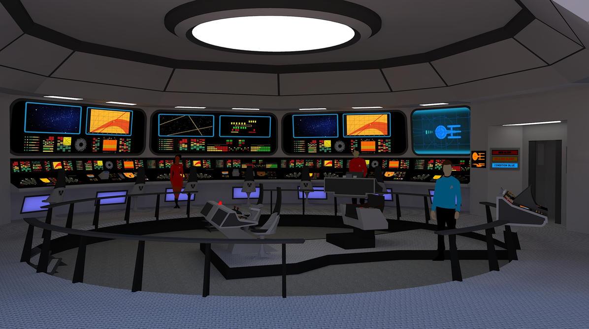 Star Trek TOS Bridge - U.S.S. Victory #2 by calamitySi