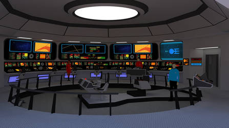 Star Trek TOS Bridge - U.S.S. Victory #2