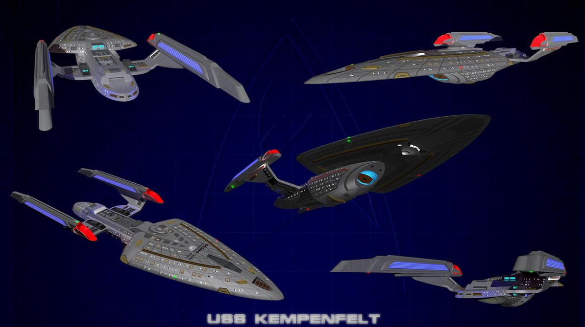 USS Kempenfelt circa 2370's by calamitySi