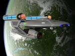 Star Trek TOS Oberth Class Starship