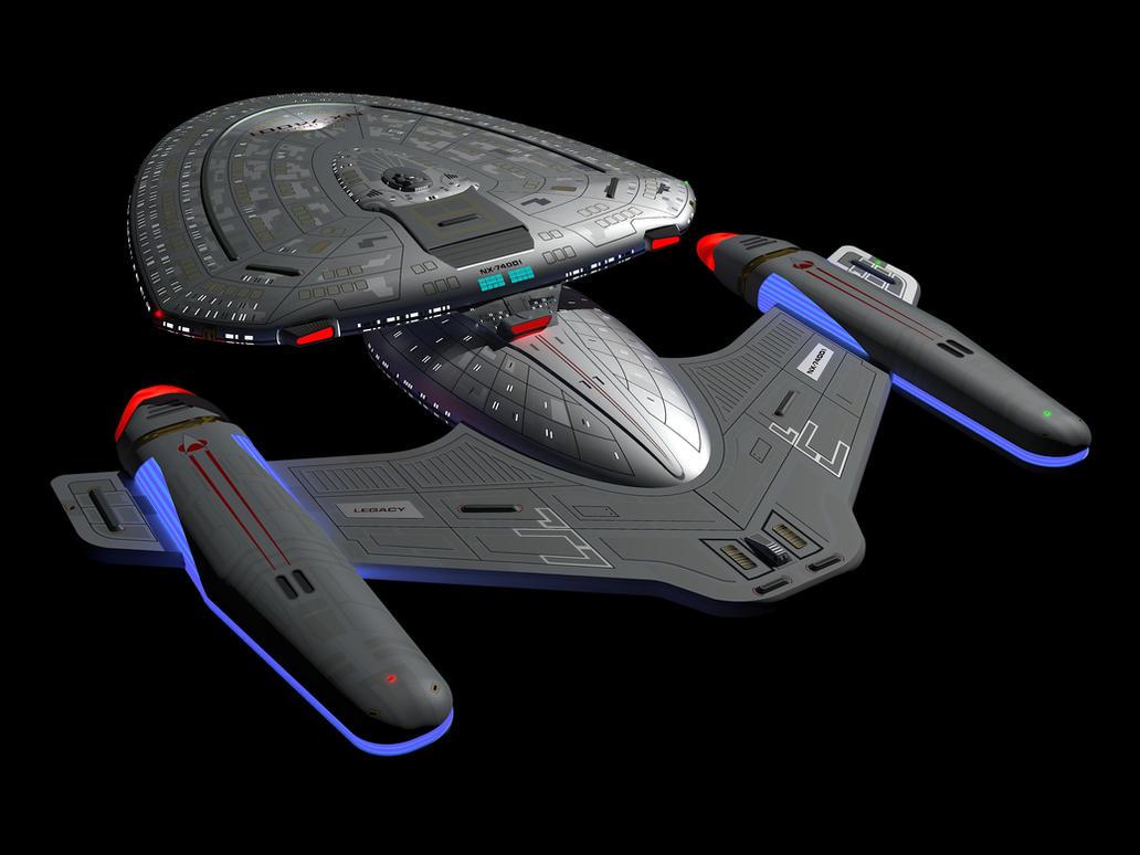 star trek future starship - photo #9