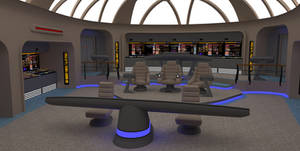 Star Trek Bridge Concept 1: Normal alert
