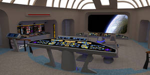 Star Trek Bridge Concept 1: Viewscreen