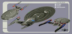 U.S.S. Lakota - Lakota Class Starship #3