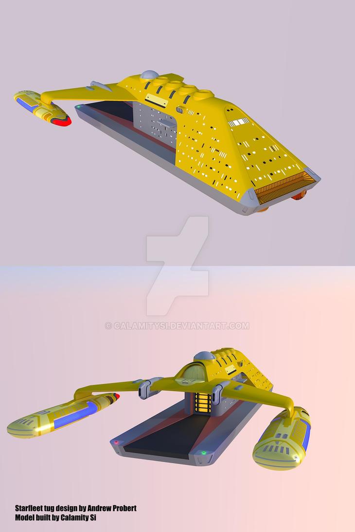 Star Trek 'Probert' Tug concept by calamitySi
