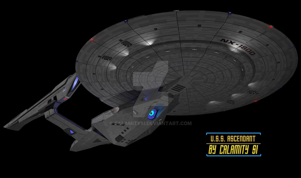 U S S Ascendant 1 620052091 on Star Trek Starship Parts