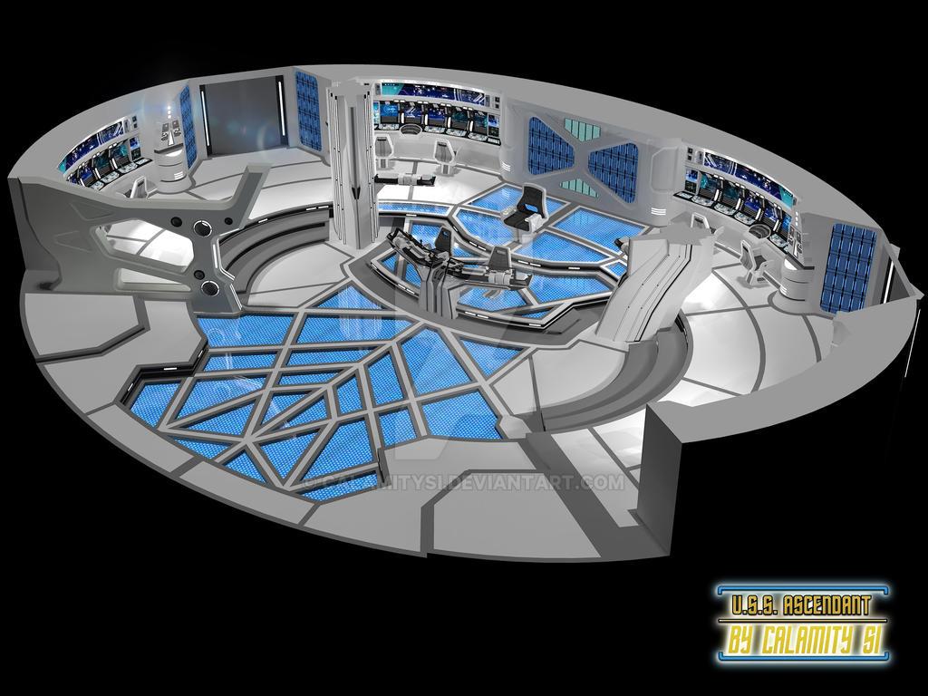 uss ascendant bridge cutaway view by calamitysi on deviantart