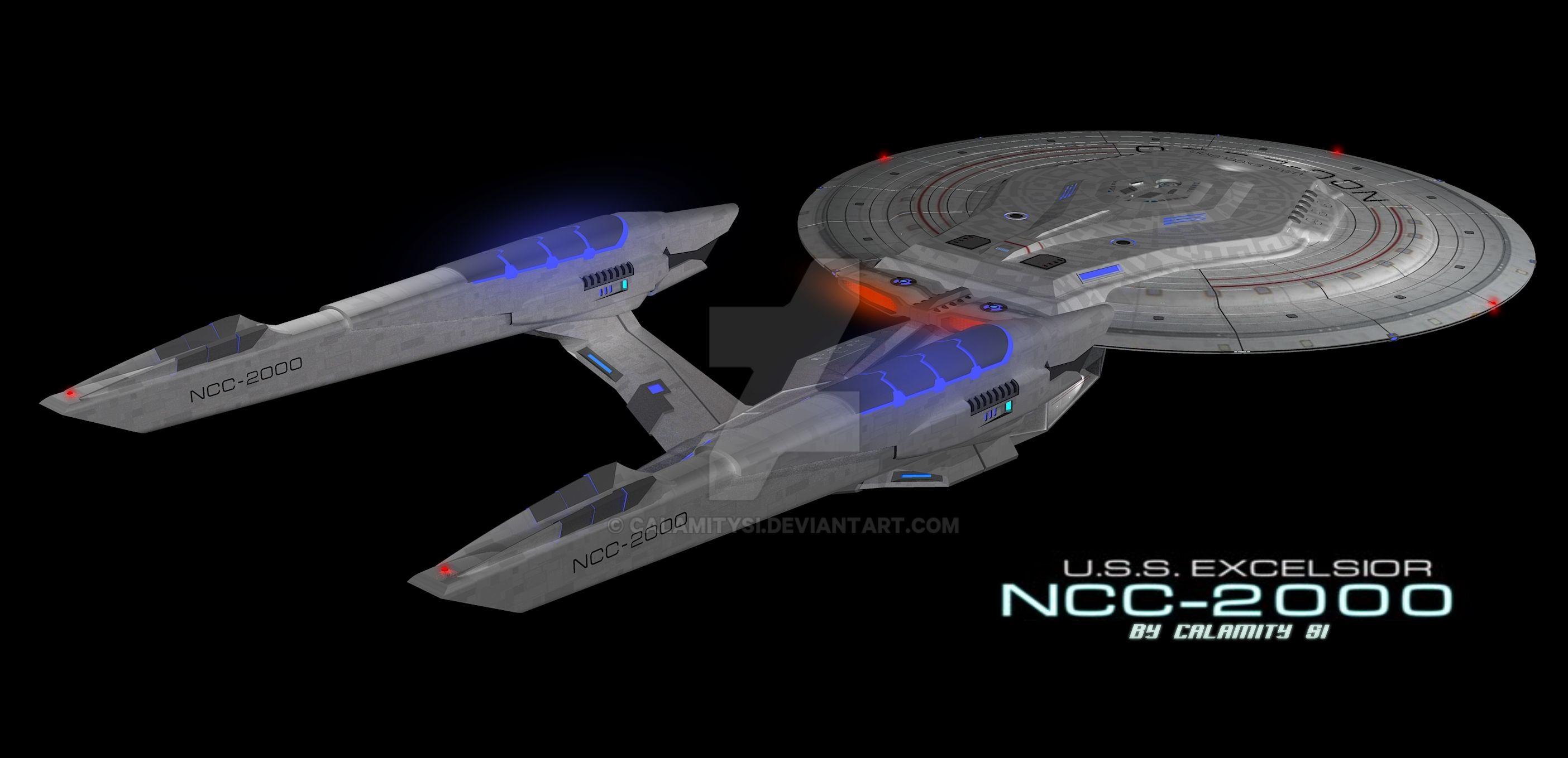 Star Trek Excelsior Paint Job