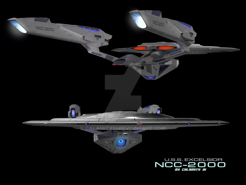 Challenger Class Starship Star Trek Blueprints Star Fleet