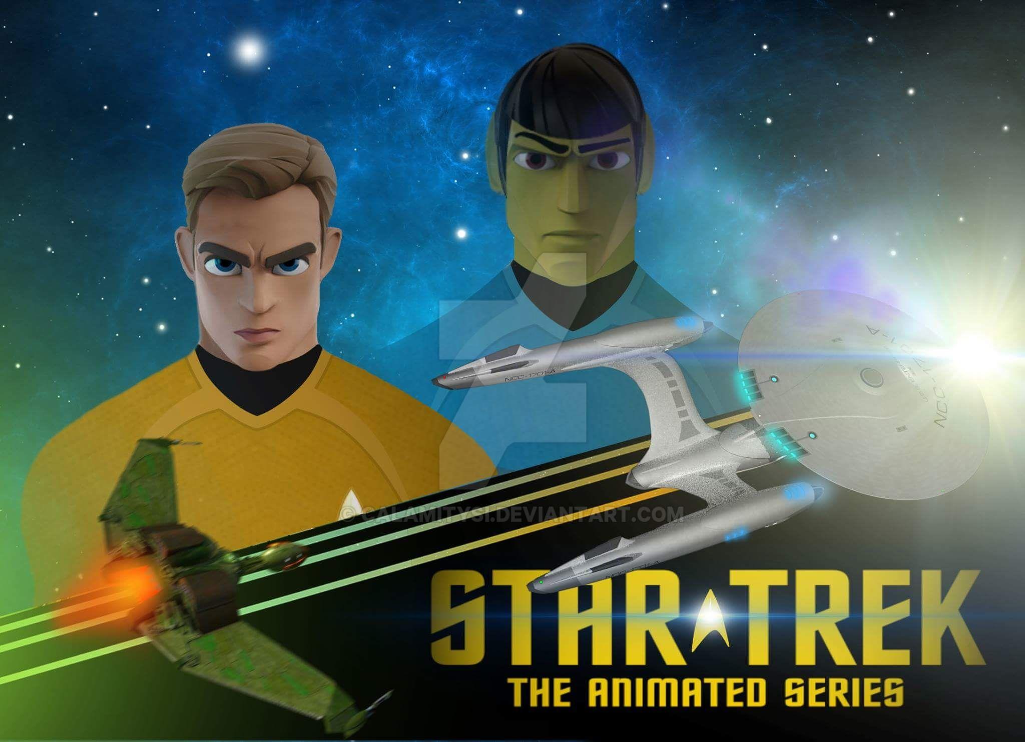 Star Trek: The Animated series by calamitySi